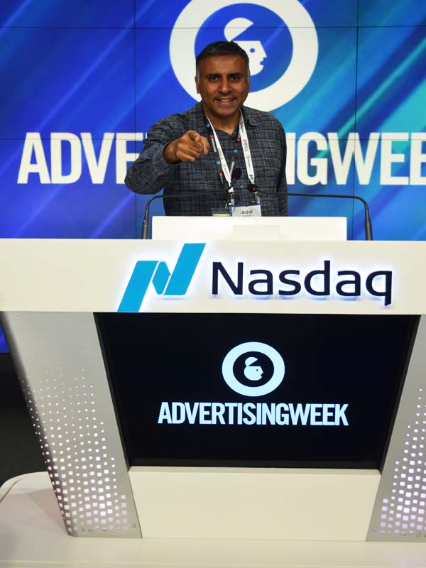 Advertising Week 2017 Closing of Bell @ NASDAQ