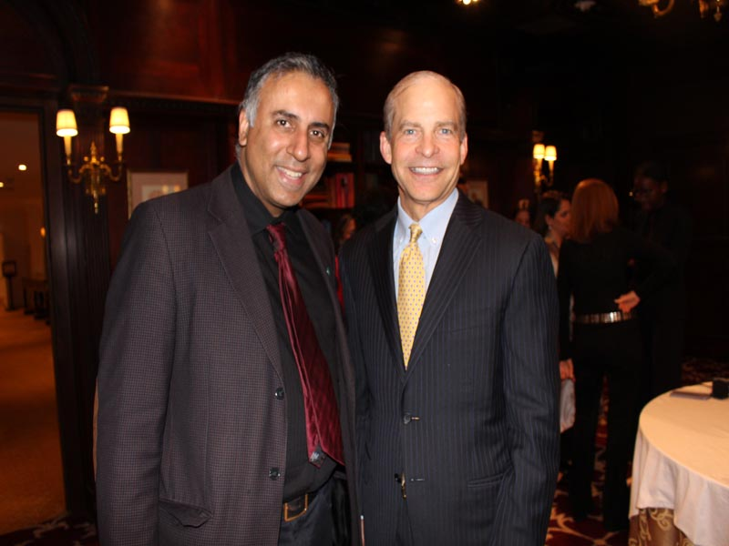 Dr Abbey with Fisk Johnson Chairman & CEO SC Johnson Co