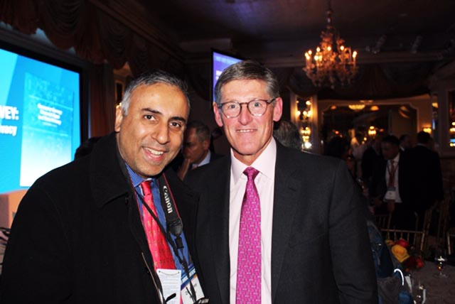 Dr Abbey with Michael L. Corbat CEO Citigroup Inc