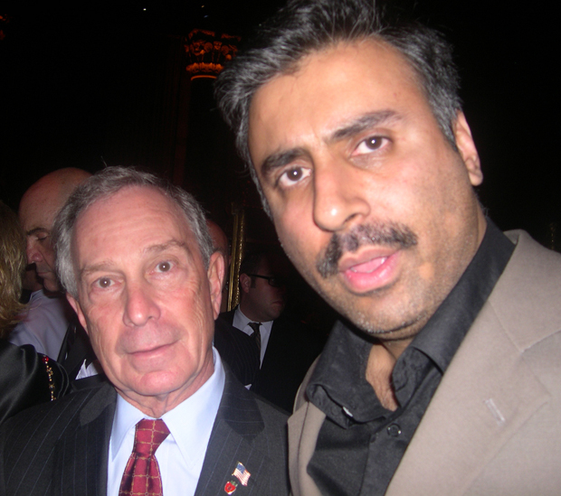 Dr.Abbey with Billioanire  Mayor Michael Bloomberg 2011