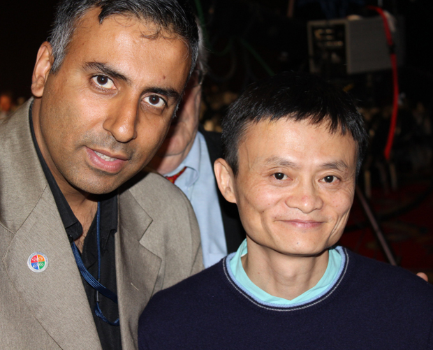Dr.Abbey with Billionaire Jack Ma Chairman and CEO, Alibaba Group