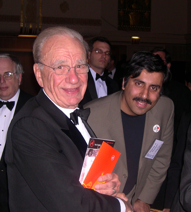 Dr.Abbey with Billionaire Rupert Murdock Chairman Newscorp