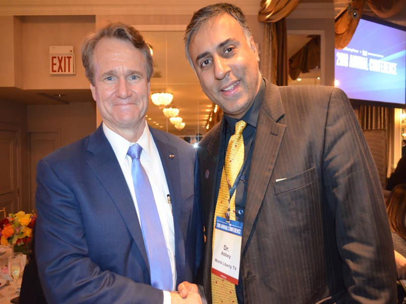 Dr.Abbey with Brian Moynihan Chairman of the Board & CEO Bank of America