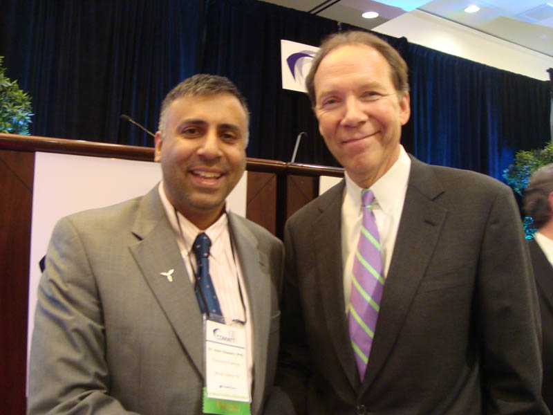Dr.Abbey with Dan Hesse CEO Sprint