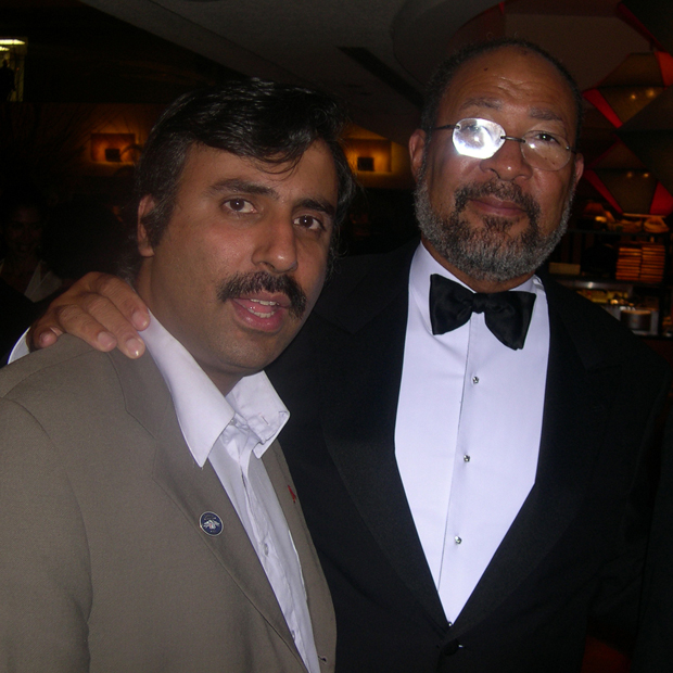 Dr.Abbey with Dick Parsons Chairman of Citigroup