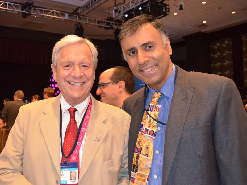 Dr.Abbey with Donald L.Saunders Chairman DL Saunders RE