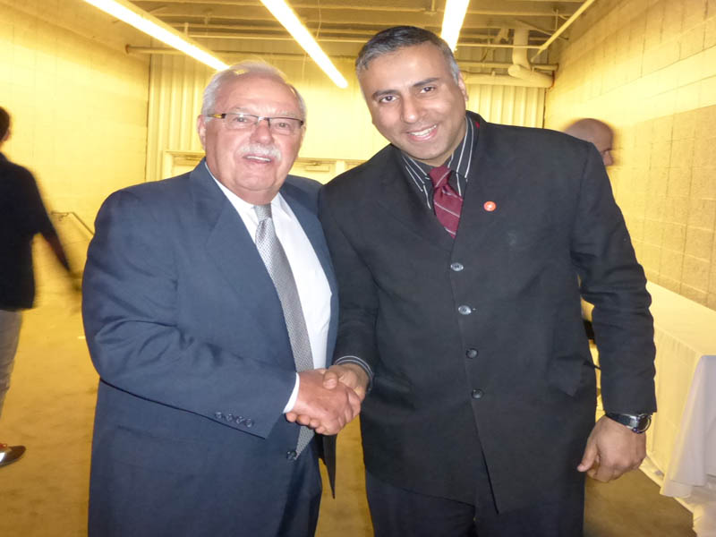 Dr.Abbey with James D.Sinegal Co-Founder Costco Wholesale Club