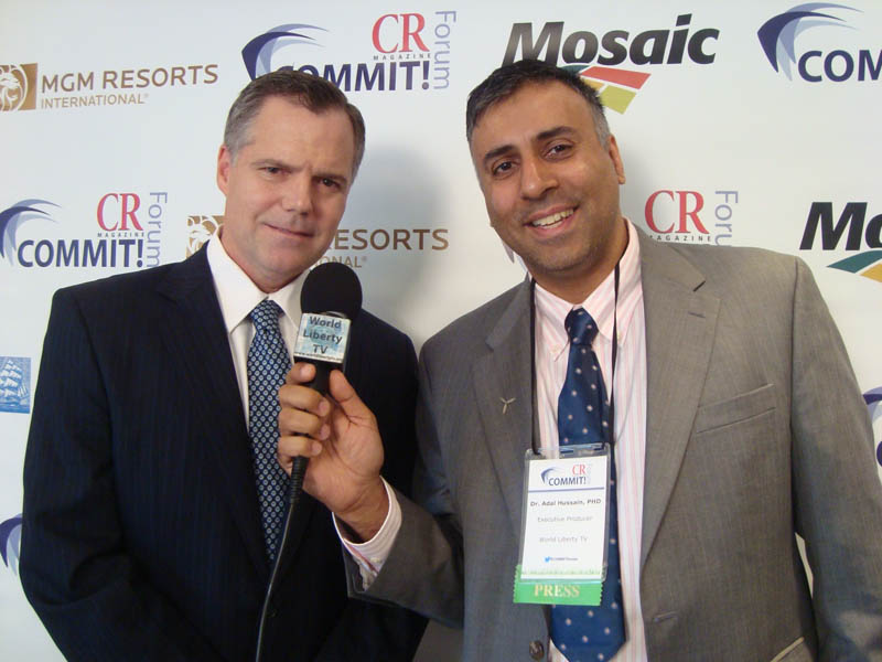 Dr.Abbey with James J.Murren, Chairman  and CEO ,MGM Resorts Int'l