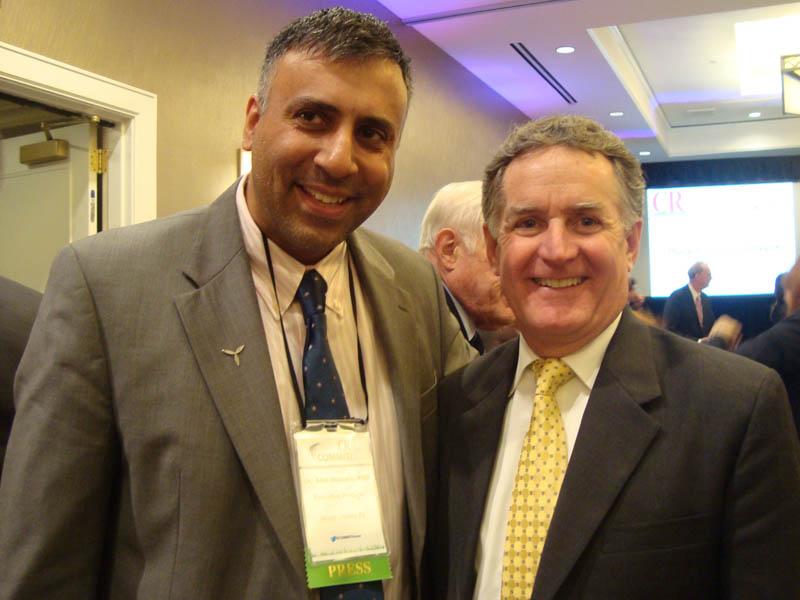 Dr.Abbey with John Veihmeyer Chairman & CEO KPMG LLP