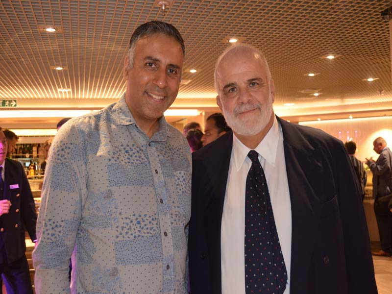 Dr.Abbey with Manfredi Lefebvre d'Ovidio Chairman Silversea