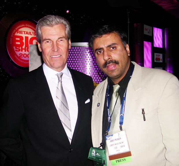 Dr.Abbey with Terry Lundgren, Chairman and CEO of Macy's