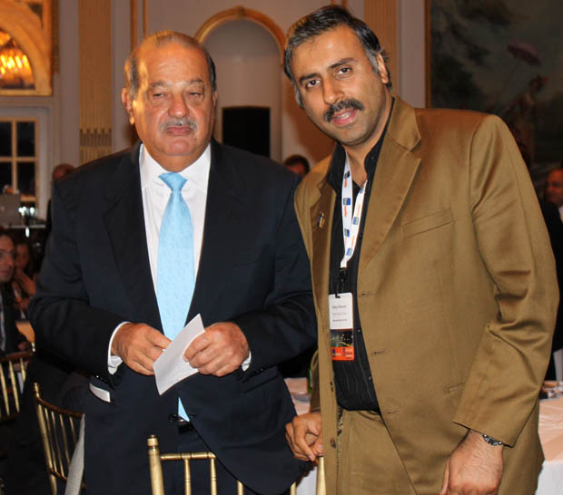 Dr.Abbey with World's Richest man Carlos Slim