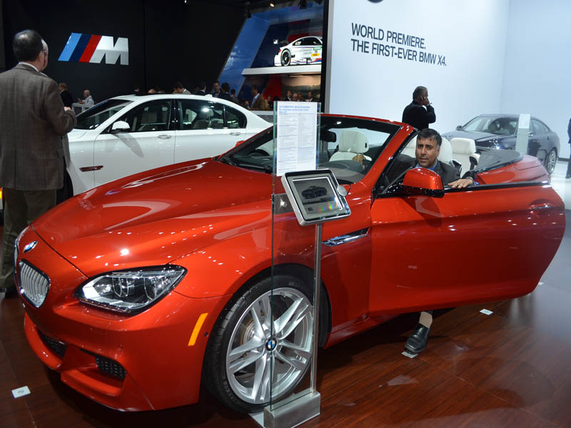 2014 BMW 650i x Drive Convertible 2