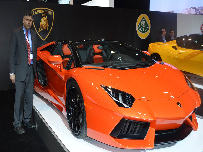 2014 Lamborghini Luxury Car
