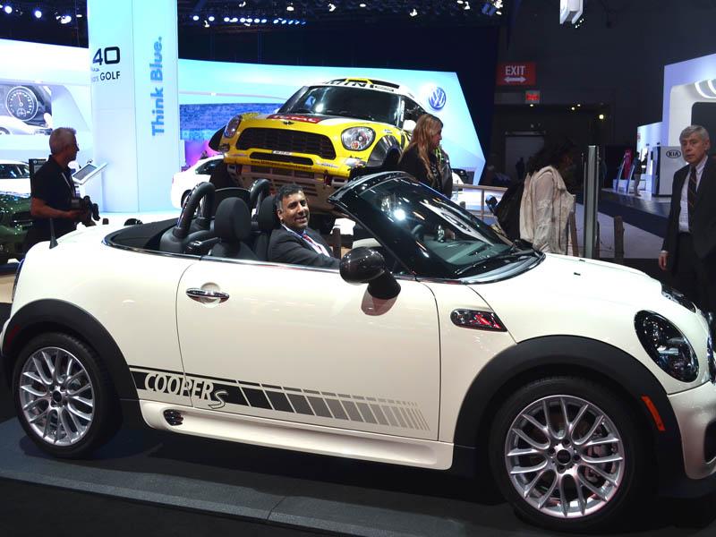 2014 Mini Cooper Roadster white