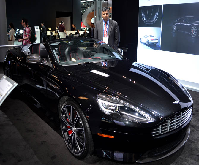 Aston Martin 2014 DB9 Carbon Edition