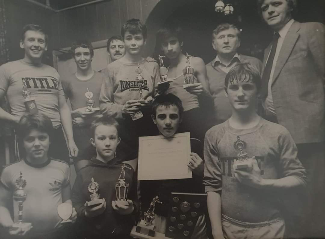 Boxing Pic as an Amateur 40 years ago