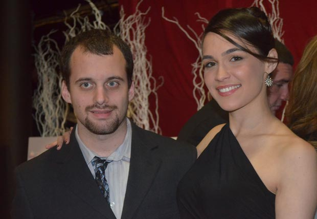 Charles Spinella with Rebecca Beauty Pageant Contestant