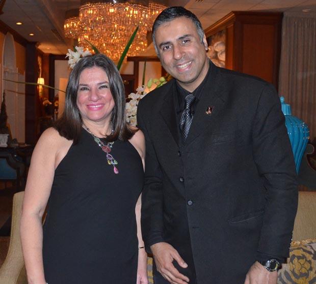 Dr .Abbey with Maria Elena Piña Fonti President NAHN