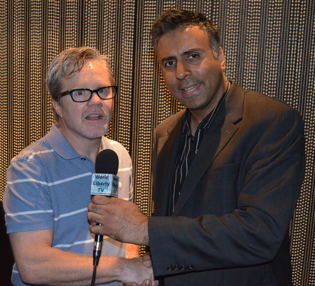 Dr Abbey Interviewing Boxing Trainer Freddie Roach