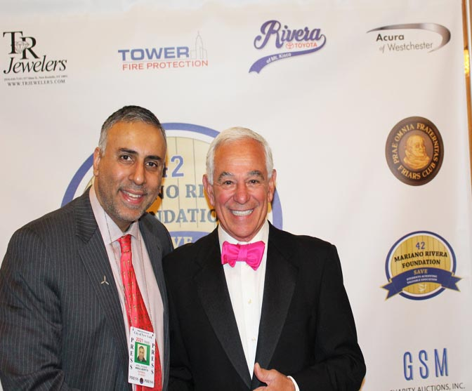Dr Abbey with Bobby Valentine Former NY Mets Manager