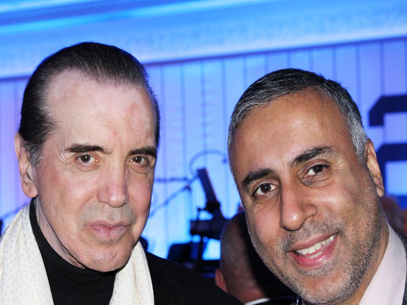 Dr Abbey with Chazz Palminteri Actor & Producer