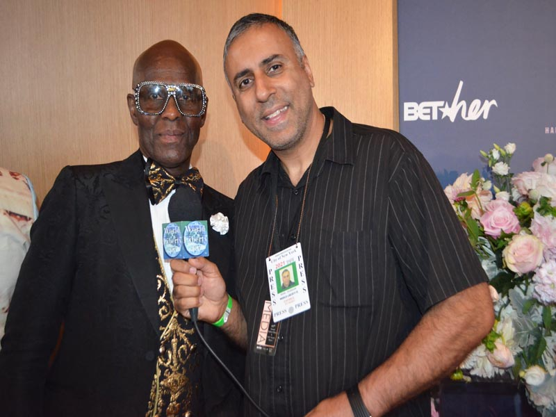 Dr Abbey with Dapper Dan of Harlem