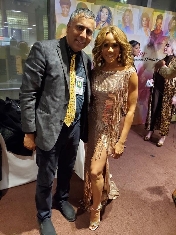Dr Abbey with Grammy Nominated Singer Deborah Cox