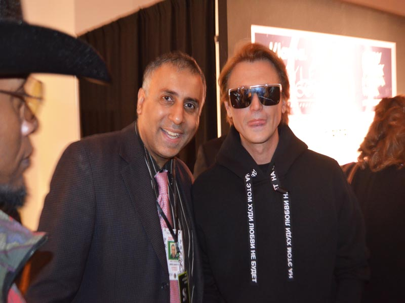 Dr Abbey with Jonathan Cheban American reality television personality