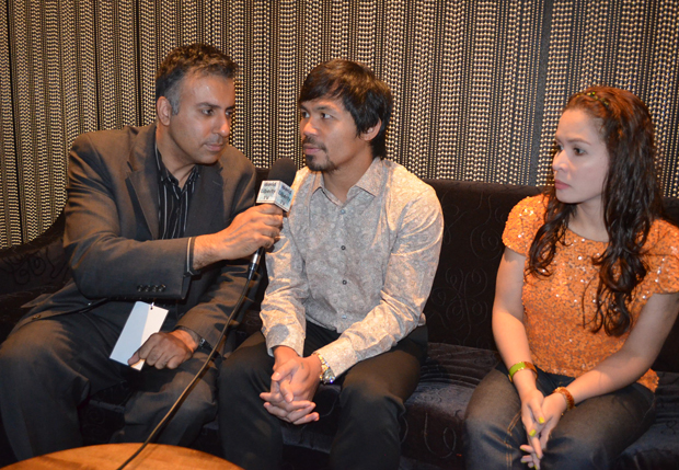 Dr Abbey with Manny Pacquiao and his Wife Jinkee