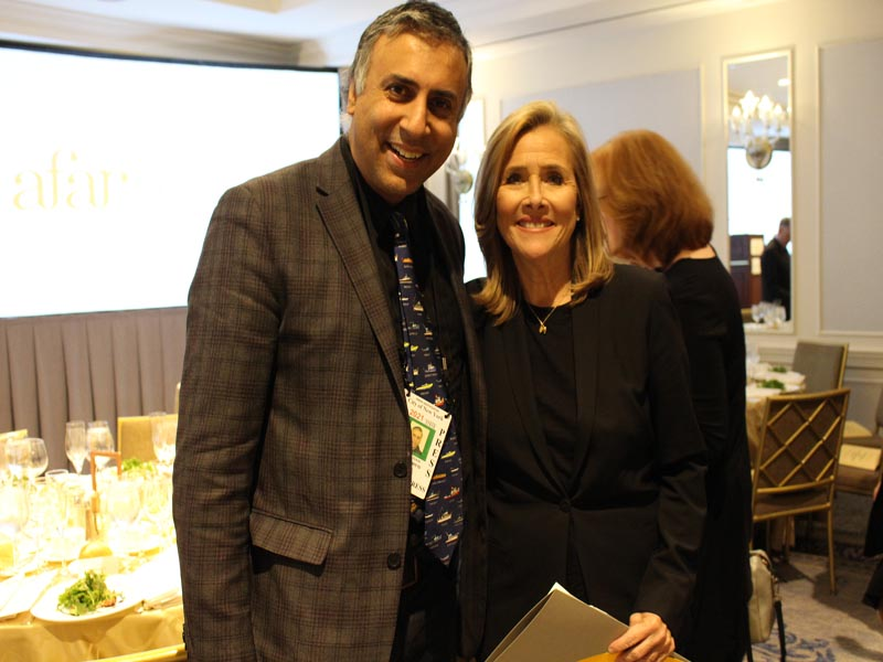 Dr Abbey with Meredith Vieira 15time Emmy Award Winning Host Producer & Anchor