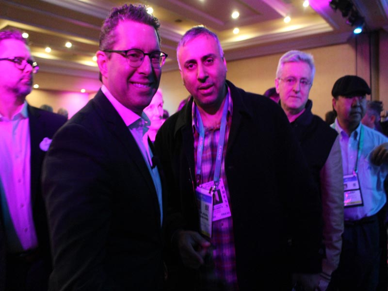 Dr Abbey with Michael Moskowitz Chairman & CEO Panasonic Corporation NA