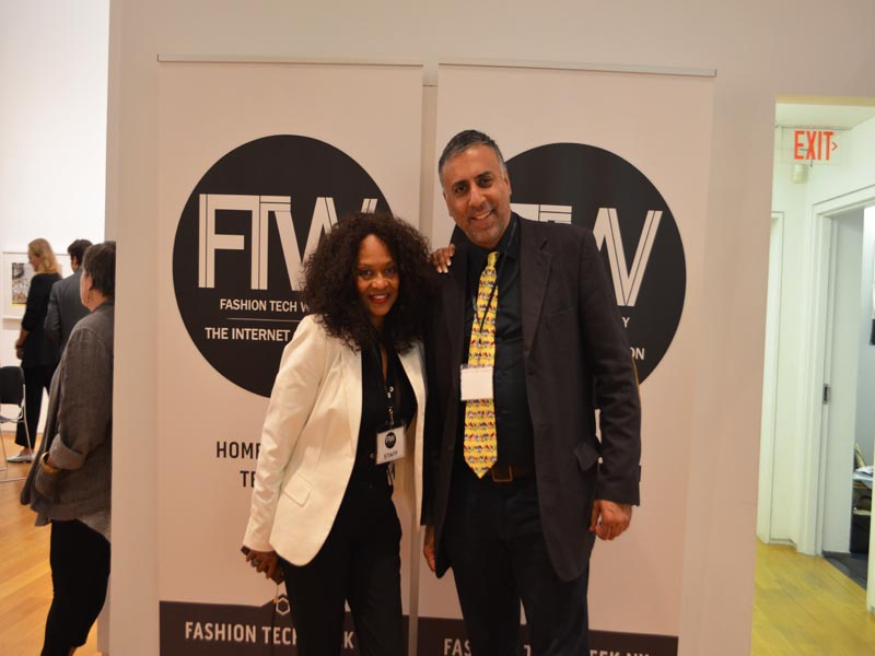 Dr Abbey with Tanya James Founder & CEO FTWNY
