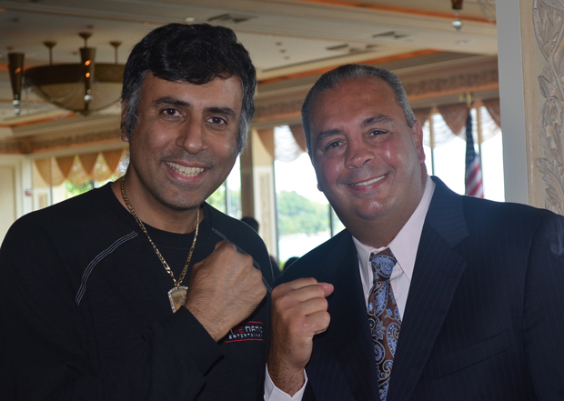 Dr Abbey with former Middleweight Contender  Pat Pretty Boy Prisco