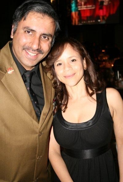 Dr Dr.Abbey with Actress Rosie Perez