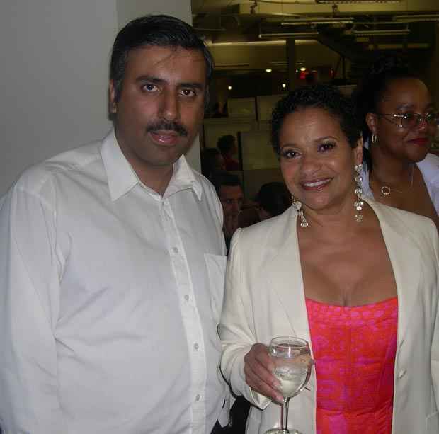 Dr.  Abbey with Actress  Debbie Allen