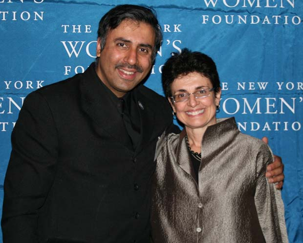 Dr. Abbey with Ana L. Oliveira,President NY Womens Foundation