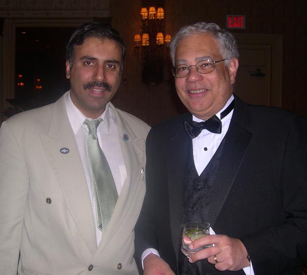 Dr. Abbey with Cesar A. Perales, President PRLDEF