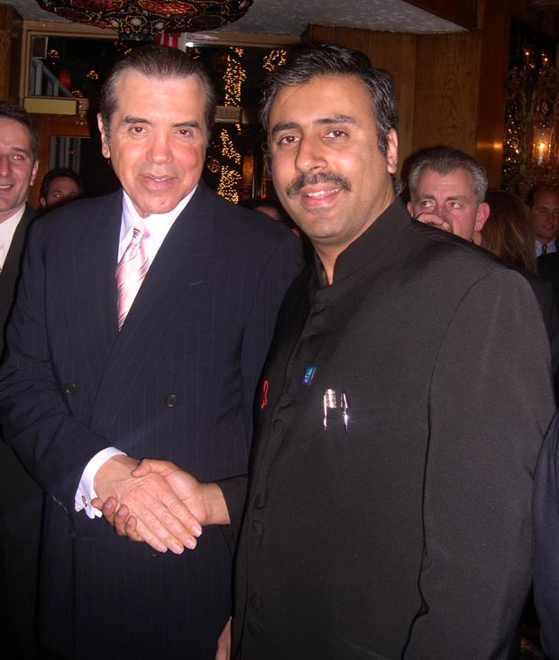 Dr. Abbey with Chazz Palminteri Actor