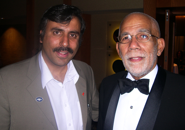 Dr. Abbey with Ed Bradley of 60 minutes