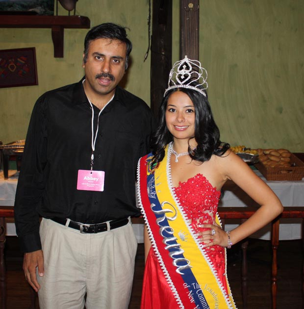 Dr. Abbey with Miss Ecuador 2008