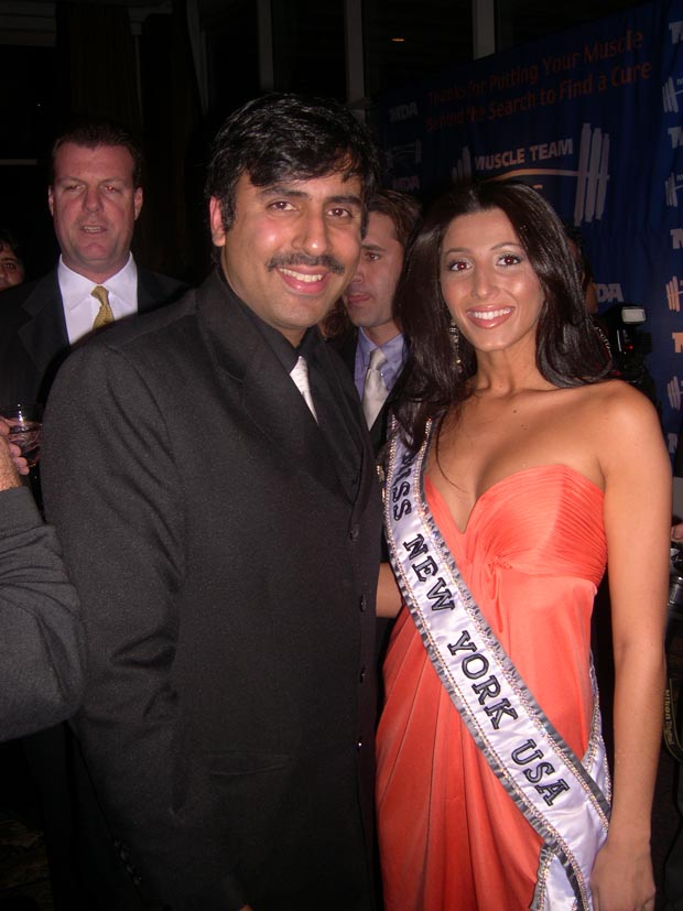Dr. Abbey with  Miss NY USA 05