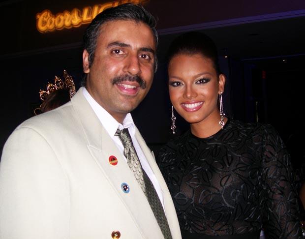 Dr.  Abbey  with Miss Universe 2006 Zuleyka Rivera