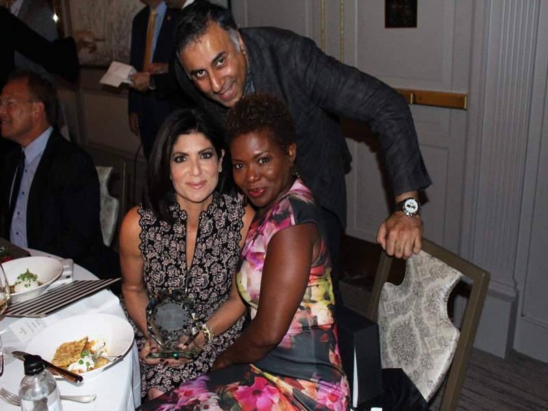 Dr.Abbey with Tamsen Fadal with LaChanze Tony SAG & Emmy Award winning actress