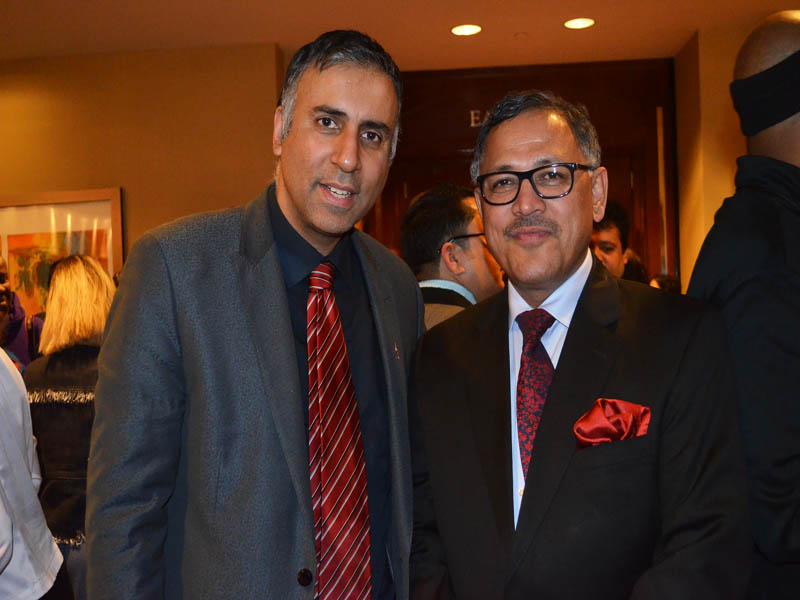 Dr.Abbey With Amb of Nepal Dr Arjun Kumar Karki