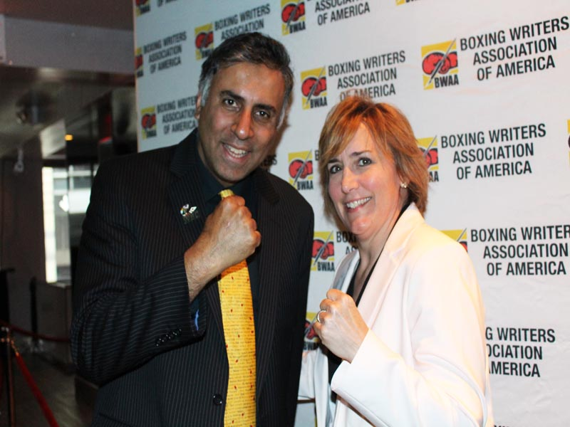 Dr.Abbey With Christy Martin Womens Boxing Great