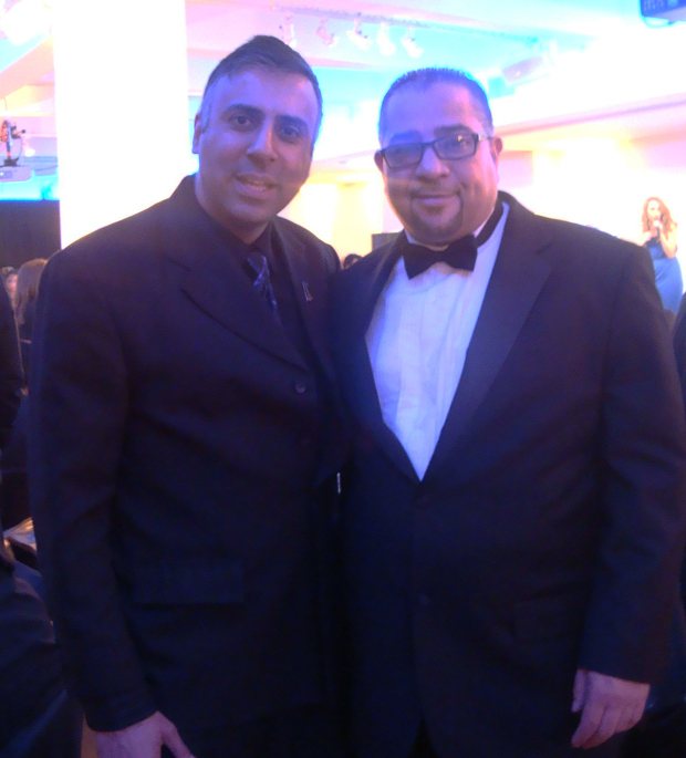 Dr.Abbey With Juan Guillen Publisher LatinTrends