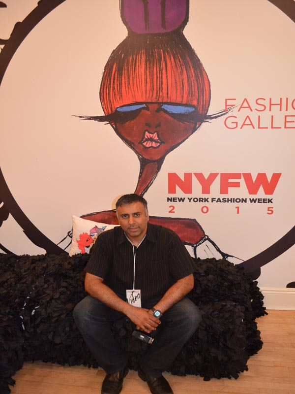Dr.Abbey at NYFW Fashion Gallery Shows