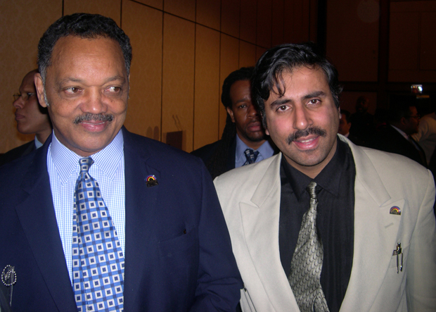 Dr.Abbey with 2 Time Presidentail Candidate  Rev Jessie Jackson