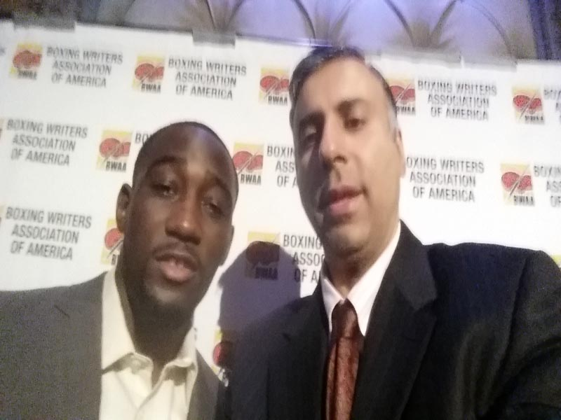 Dr.Abbey with 2 Time World Boxing Champ Terence Crawford